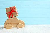 Creative minimalist christmas theme image