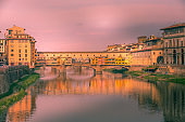 Ponte Vecchio in Florence, Tuscany, Italy