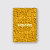 vector illustration background pandemic icons coronavirus covid 19. Virus Corona backdrop pattern. Medical banner with coronavirus covid19 bacteria icon set. Modern abstract infection texture design.