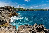 Angel's Billabong at Broken Beach in Nusa penida island
