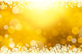 Gold glitter background material