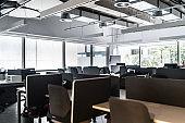 Interior of modern office empty