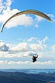 Paragliding from Mount Floyen