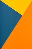 Abstract geometric background in trendy colors