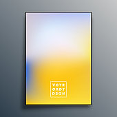 Gradient background design for poster, wallpaper, flyer, brochure cover, typography or other printing products. Vector illustration