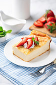 Cottage cheese cake casserole