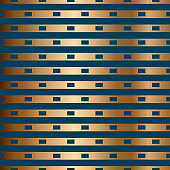 Abstract vector geometric seamless pattern with horizontal stripes.