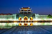 Ancient city wall and moat of pingmen, Suzhou