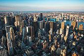 New York City Skyline, Manhattan, USA