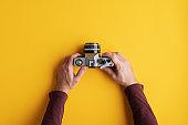 Using old analog camera