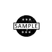Illustration Vector graphic of sample icon template