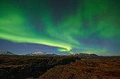 Northern Light (Aurora), Icelnad