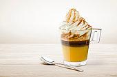 coffee cream cup