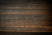 Plank wood table floor with natural pattern texture background.
