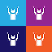 american football referee color icons. Element of popular american football color icons. Signs, symbols collection icons for websites, web design,