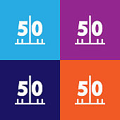 American football pitch color icons. Element of popular american football color icons. Signs, symbols collection icons for websites, web design,