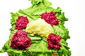 lettuce, beets, greens