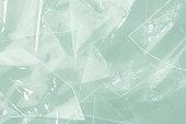 broken glass plastic background