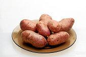 beautiful tasty potatoes