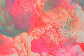 smudged watercolor painting  background