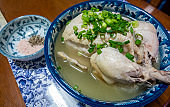 Samgyetang or Korean ginseng chicken soup