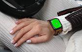 Green screen on new technology