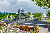 Brahmavihara-Arama also known as Vihara Buddha Banjar because of its location in the Banjar District of Buleleng is a buddhist Temple Monastery in the mountains near Lovina in North Bali.