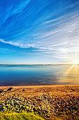 Sunrise at Lake Boga