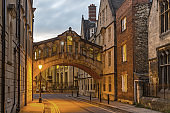 Bridge of Sighs in Oxford, Oxfordshire, England, UK