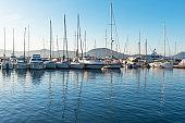 Saint Tropez Marina, Cote d'Azur, France