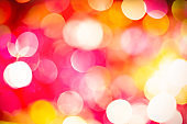 Bright abstract background with lights