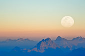 Mountain s launs and moons