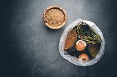 Organic food wastes