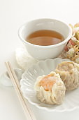 Chinese food, shumai steamed dumpling for yum cha food