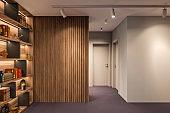 Modern interior hallway