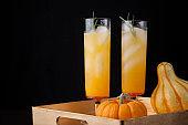 Pear Sparkler - Fall Drinks