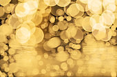 Christmas background with beautiful bokeh.