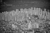 Modern residential buildings, Seoul, South Korea