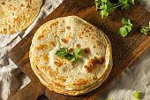 Homemade Roti Chapati Flatbread