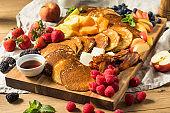 Homemade Pancake Charcuterie Board