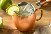 Homemade Vodka Moscow Mule