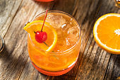 Homemade Wisconsin Brandy Old Fashioned Cocktail