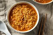 Spicy Instant Ramen Noodle Bowl