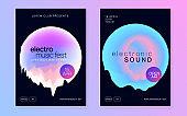 Poster for summer fest and music flyer.