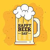international beer day, august, mug beer