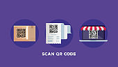 scan qr code with set icons