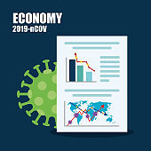 economy impact by 2019 ncov infographic in document