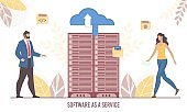 Software Service and Data Transmission Technology