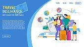 Tour Agency Landing Page Offer Insurance Service