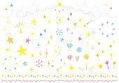 Star hand drawn icon